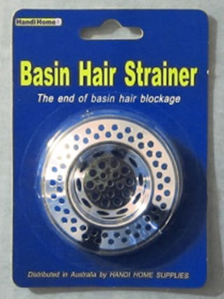 Basin Hair Strainer - Click here to read more...